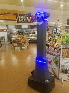 Stop & Shop's Marty the Robot